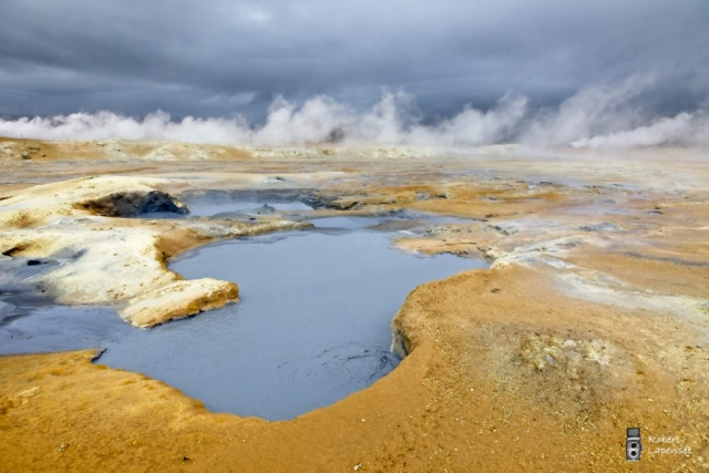 Islande terre de feu de Robert Lapensée