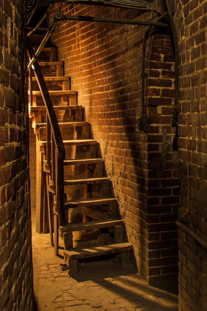 L'escalier de la cathédrale de Michel Sauvé