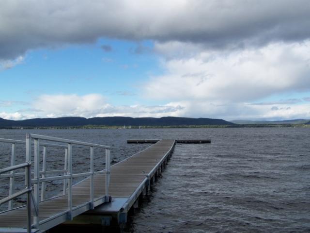 Éclaircie au Lac Maskinongé de Diane Pagé