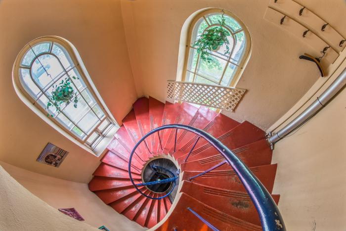 L'escalier du presbitère de Michel Sauvé