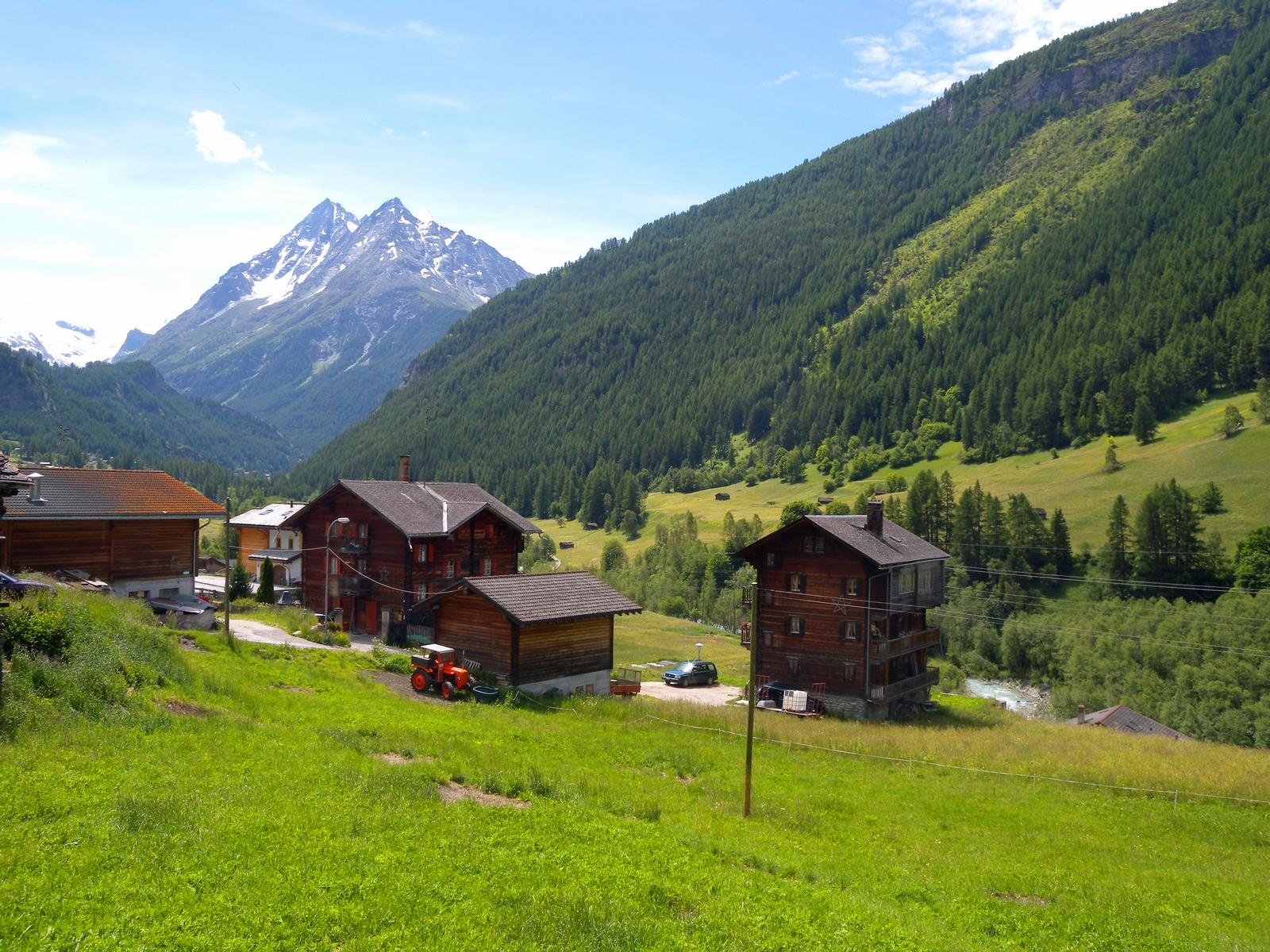 Paysage suisse de Lutgarde Gauvin