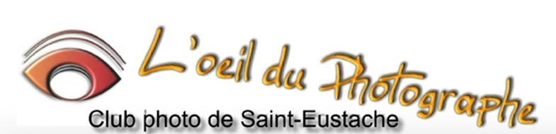 Logo de L'oeil du photographe le club photo de Saint-Eustache
