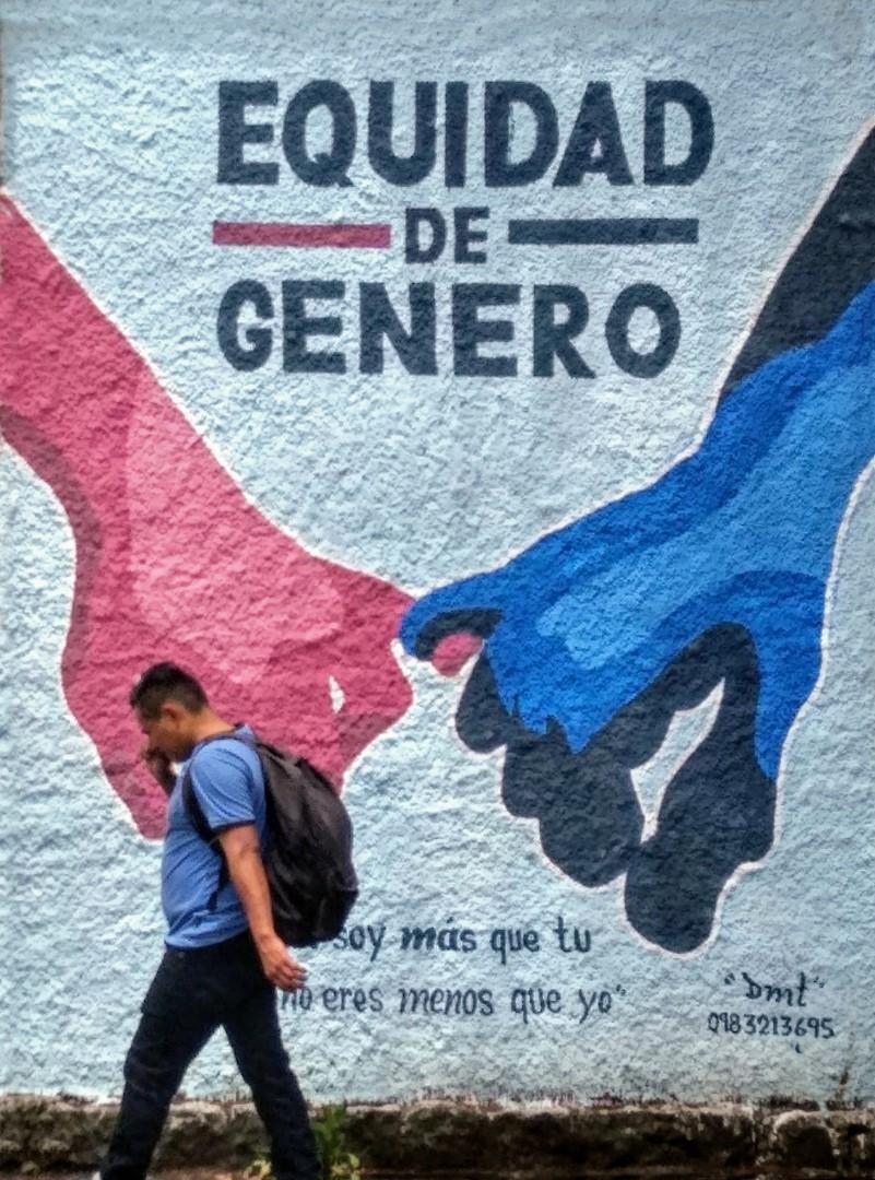 Équité des générations , murales, humain, urbain, Équateur