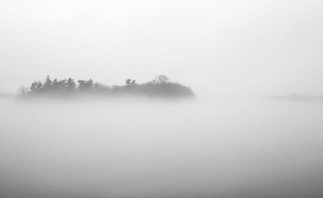 Les Milles-Iles en brume